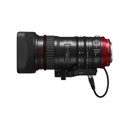09 CANON CN E 18 80mm T.4.4 - OTTICA CINEMA EF CANON CN-E 18-80mm T.4.4 FF
