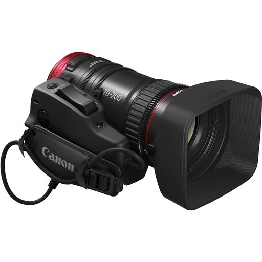 10 CANON CN E 70 200mm T.4.4 - OTTICA CINEMA EF CANON CN-E 70-200mm T.4.4 FF