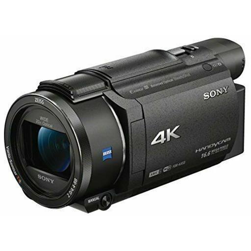 RC 04 SONY FDR AX33 - VIDEOCAMERA SONY FDR AX33 4K