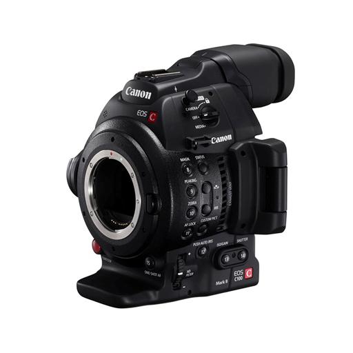 RC 10 CANON EOS C 100 - CINEMA CAMERA CANON C100 FHD FF EF, EF-S, EF Cinema-MOUNT