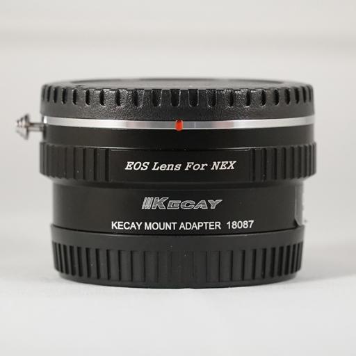 RO 18 - ADATTATORE KECAY 18087 EF lens per E-MOUNT