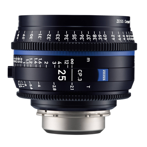 RO 23 - OTTICA CINEMA PL ZEISS 25mm – T/2.1 CP.3 FF