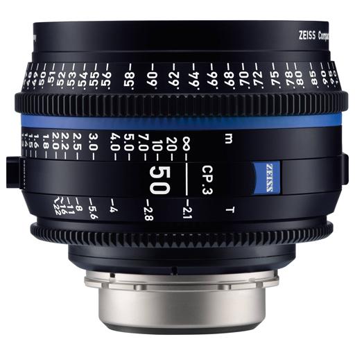 RO 25 - OTTICA CINEMA PL ZEISS 50mm – T/2.1 CP.3 FF