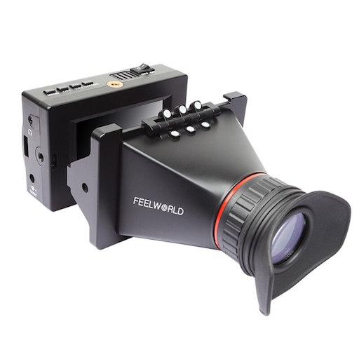 Feelworld S350 3 5 pollice EVF 3G SDI HDMI Elettronici View Finder 3 5 Macchina Fotografica - VIEWFINDER FEELWORLD S350