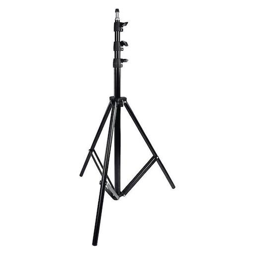 stativo leggero caruba ls 1 da 78cm a 280cm per flash e pannelli capacita 3kg - STATIVO LEGGERO