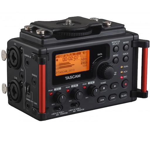 tascam dr 60d mkii registratore professionale portatile lineare pcm stereo nero - REGISTRATORE TASCAM DR-60D MK II