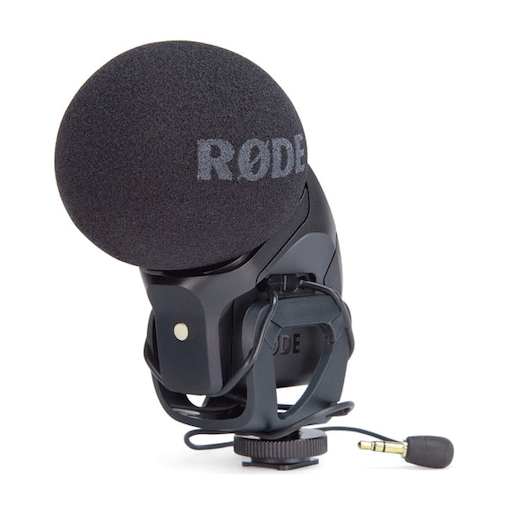 Rode Stereo Vide 51556dc5053b6 1 - MICROFONO STEREO RØDE VIDEOMIC PRO CON ATTACCO JACK da 3,5 mm