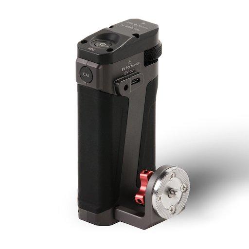 Tiltaing Side Focus Handle Type II F570 Battery Tilta Grey back TA SFH5 57 G 4096x2307 1 - FOCUS HANDLE TILTA TA-SFH-57-G PER NUCLEUS-N